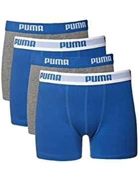 4unidades Puma Niños Boxer. Boxer Pantalones Cortos Niños, Actual Colores Colección 2015, en 95% de algodón de...