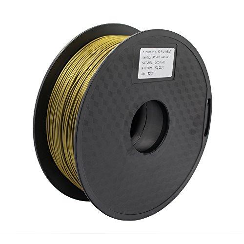 Anycubic Haute Ténacité Imprimante 3D Filament PLA Tolérance +/-0.02 mm -1KG (1.75mm, Vert-or)