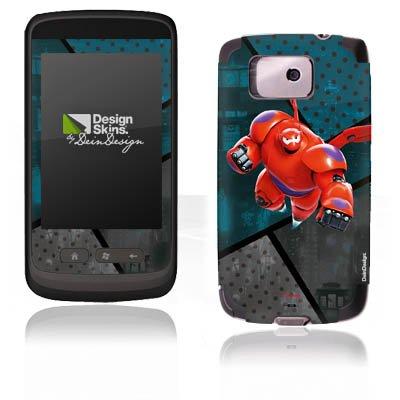 DeinDesign HTC Touch 2 Case Skin Sticker aus Vinyl-Folie Aufkleber Disney Baymax Merchandise Fanartikel - Big Hero 2 Six