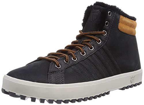 K-Swiss Adcourt '72 Boot, Baskets mode homme Noir