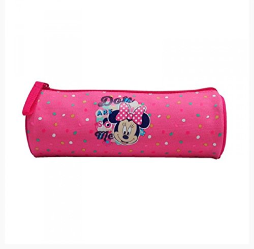 Minnie mouse Barrel Pencil Case – Lunares son tan Me
