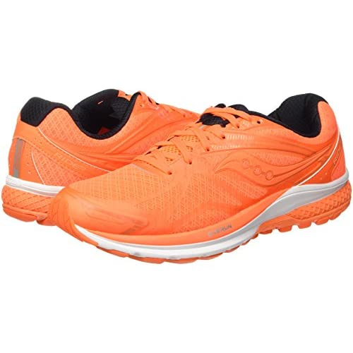 41kzdY5GIKL. SS500  - Saucony Men's Ride 9 Pop Running Shoe