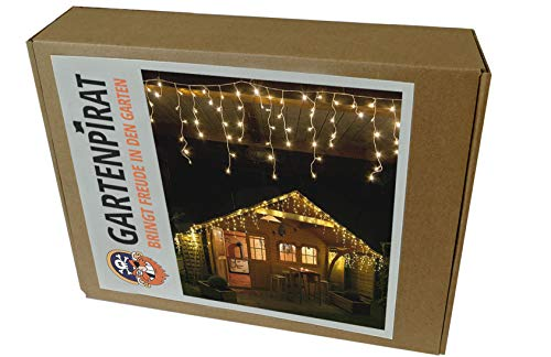 480 LED 12m Tenda luminosa deco Natale bianco caldo outdoor