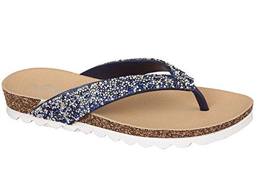 Foster Footwear - Sandali  da ragazza' donna Navy