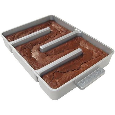 Baker's Edge Nonstick Edge Brownie Pan by Baker's Edge