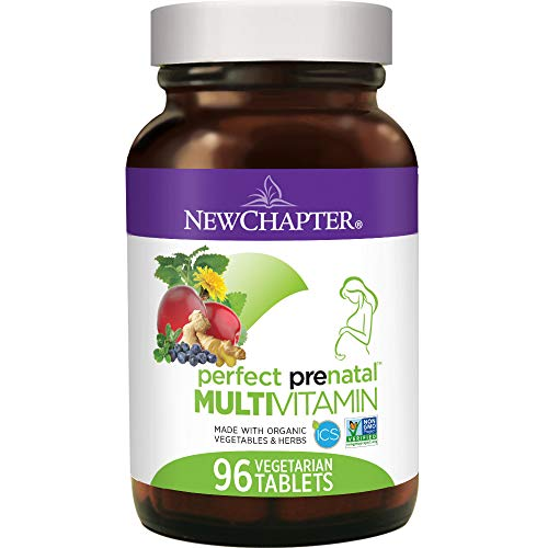 New Chapter Perfect Prenatal Multivitamin, 96 Tablets, 96 count