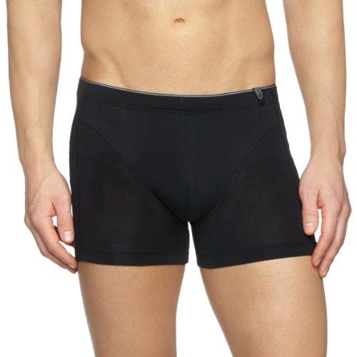 Schiesser Herren Unterhose Shorts 205424, Gr. 9 (3XL), Schwarz (000-schwarz)