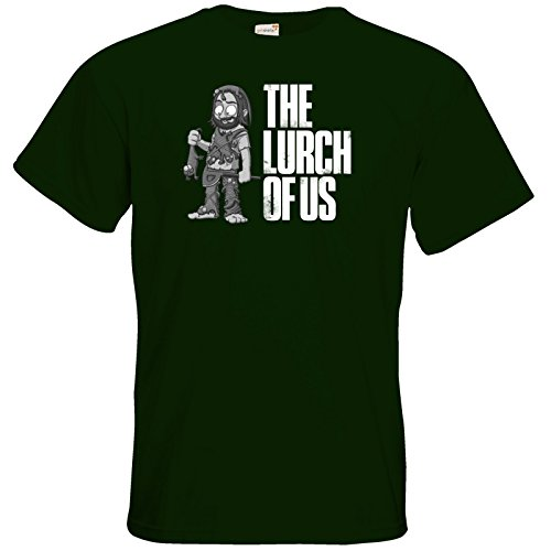 getshirts - Gronkh Official Merchandising - T-Shirt - The Lurch of us s/w Bottle Green