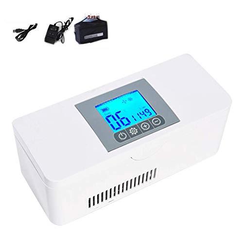 ZYFA Mini frigo PortatileInsulin CoolerDroghe Temperatura costante Frigoriferofrigo per AutoMedicina Cassa refrigerata