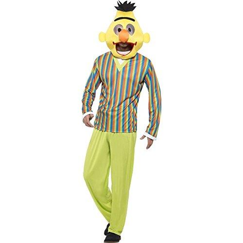 Sesamstraße Herren Kostüm Bert Karneval (Sesamstrasse Bert Kostüm)