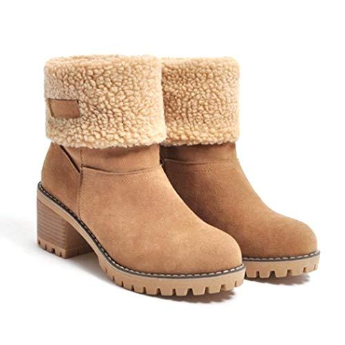 Stivali Invernali con Cerniera donna