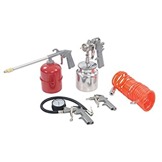 Silverline 633548 Air Tools and Compressor Accessories Kit, 5-Piece