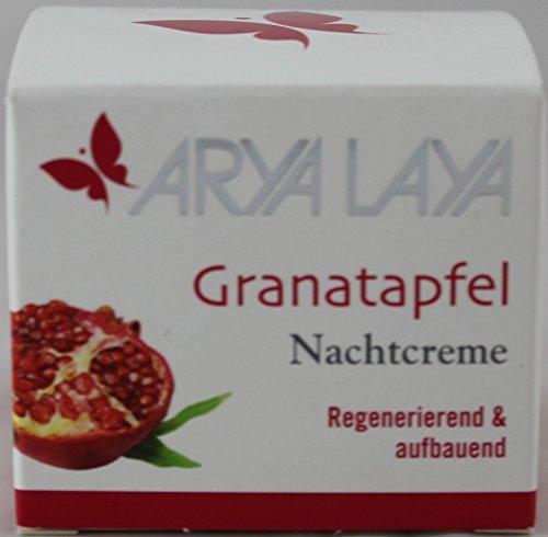 Arya Laya Granatapfel Nachtcreme, 2 x 50ml