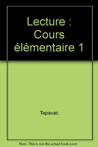 SAV.LEC/LECTURE CE1 (Ancienne Edition)