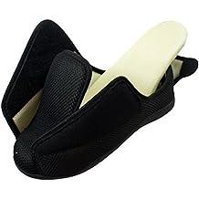 Surf 4 Shoes Hombre Mujer Muy Ancho E/5e Fit Ajuste Espuma viscoelástica Transpirable Cierre
