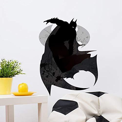 JXLK Black Bat Halloween Wandaufkleber Abnehmbare PVC Kinder Kinderzimmer Home Art Dekoration Tier Wandtattoo Liefert