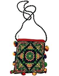 "KGN Handicraft 8.5""-inch Women's Bag K-05 (PACK OF 2)"