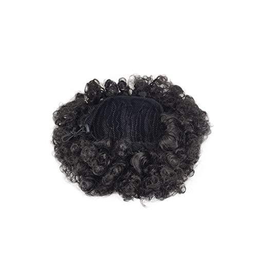 Perücke Damen Haar LHWY Synthetische Lockige Pferdeschwanz Afro Kinky Hair Extension Kordelzug Puff ()