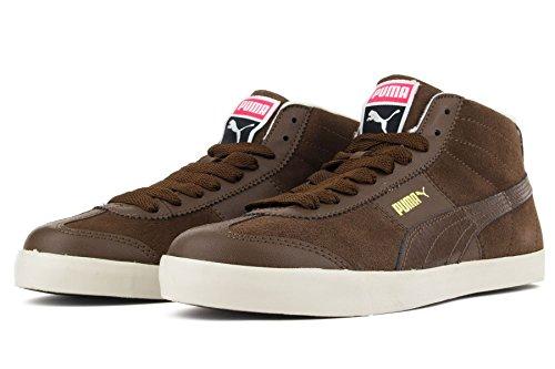 Puma Roma LP Hi Lodge Leder Sneaker Braun