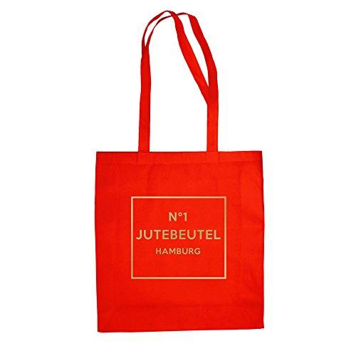 No1 - Borsa Di Juta - Hamburg - Dal Reparto Camicia Rosso-oro