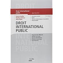Droit international public, 8 ème édition