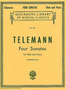 Vier Sonaten (Für Vier Und Sonaten Klavier Flöte)