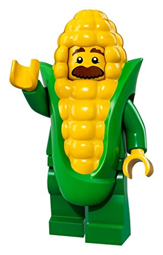 Guy Bösen Kostüme (Lego Minifigures Series 17 - #4 CORN COB GUY Minifigure - (Bagged))