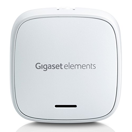 Gigaset Alarm Sensor/elements universal/Smart Home Tür-/Fenstersensor mit Sirene/ergänzt elements alarm systeme/Alexa kompatibel