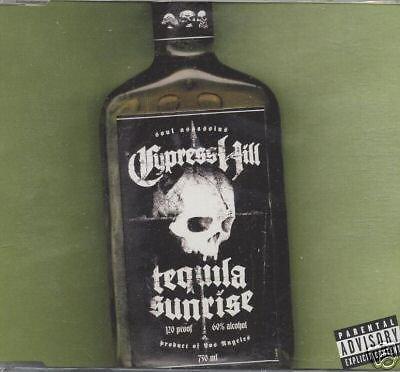 CYPRESS HILL CD Single - Tequila sunrise (4 mixes)mint