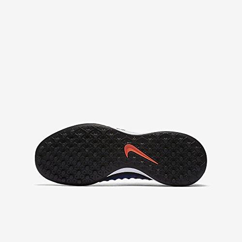 Nike Unisex-Kinder Magista X Opus Ii Tf Fußballschuhe Blau (Black/Paramount Blue/Blue Tint/White)