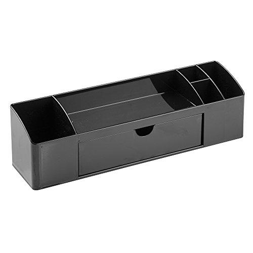 InterDesign-Accessori da scrivania-Organizer per cassetto, colore: nero