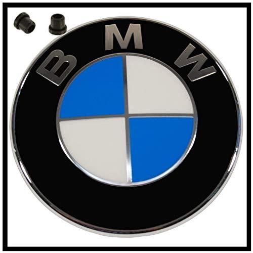 ORIGINAL BMW EMBLEM LOGO für die MOTORHAUPE incl. TÜLLEN 1er 3er 4er 5er 6er 7er X1 X3 7er X1 X3 X4 X5 Z4