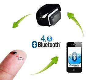 Spy Oreillette Invisible GSM mains libres avec bracelet Bluetooth