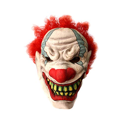 HUINING Halloween Masken Killer Clown Maske Silikon Realistisch Für Cosplayer Halloween Kostüm-Party Dekoration Katzenmaske Maskerade (Michael Myers Real Kostüm)