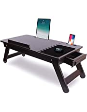 Ebee Laptop Table with Drawer
