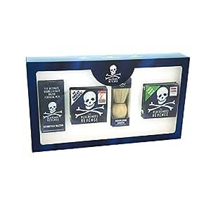 The Bluebeards Revenge Scimitar Safety Razor Shaving Kit