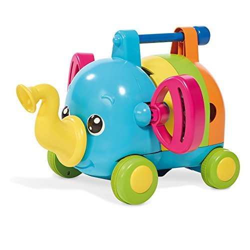 TOMY Toomies Jumbo's Jamboree - Elephant Toy With 7 Musical Instruments - Suitable From 1 year