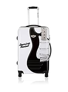 American Revival Valise - GUITARE 2 BLANC - Taille L - 70cm - 100 L