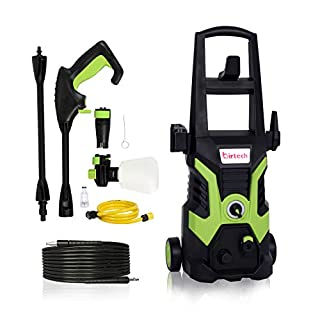 Stream 1700W 135Bar 330L/H Pressure Washer Electric Portable Lightweight Power Washer Patio Cleaner with Accessories, Car/Patio/Yard Washing Machine for Home Garden Driveways