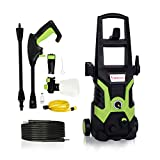Stream 1700W 135Bar 330L/H Pressure Washer Electric Portable Lightweight Power Washer Patio Cleaner
