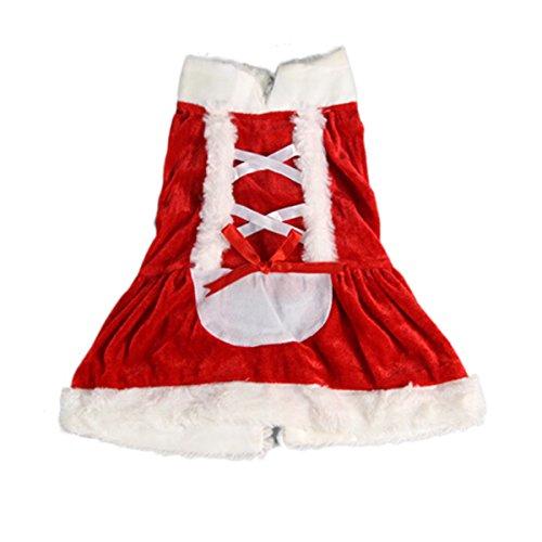 Kostüm Liegende Katze - Evilandat Haustier Hunde Weihnachten Kleidung Kostüm Hundeweste Kleider