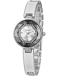 Time100 W50284L.03A W500 - Reloj para mujeres, correa de aleación color blanco