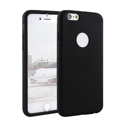 F8Q Rugged All Inclusive Couverture antichoc équipée caoutchouc hybride pour iPhone 6 / 6s noir