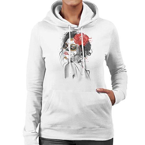 Cloud City 7 Dia De Los Muertos Day of The Dead Women's Hooded Sweatshirt