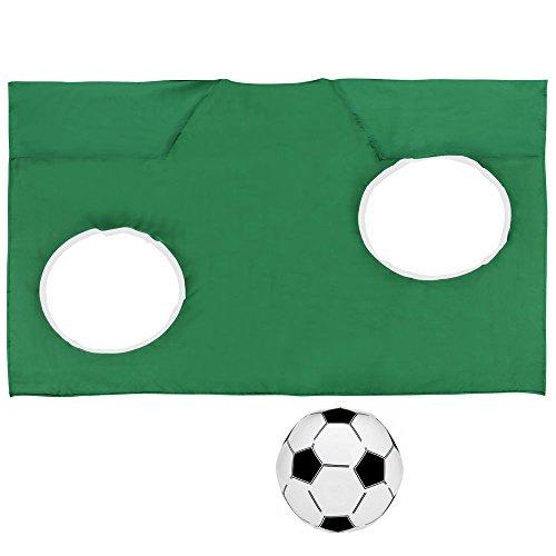 Torwand-Kostüm - inkl. Ball - (Fußball Kostüm Ball)