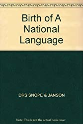 Birth of A National Language