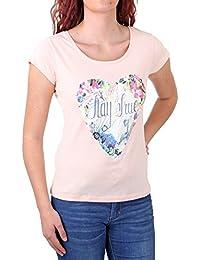 Madonna T-Shirt Damen LIANNE Rundhals Herz Motiv Druck Shirt MF-408054