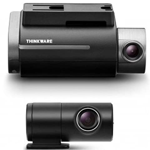 THINKWARE DASH CAM F750 2CH (FRONT & REAR) with 32GB, WIFI, GPS, FULL HD 1080P, ADAS and Red Light / Speed Camera Warning System - Hardwired Version