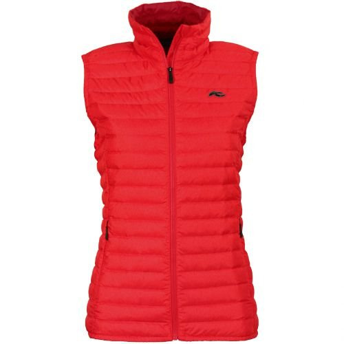 Kjus Ladies Cypress Down Vest - Lipstick Pink / Purpur Red - 38 - Warme leichte Damen Daunenweste Womens Down Vest