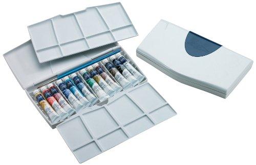 Winsor & Newton Cotman Aquarellfarbe Painting Plus Set 12 x 8ml Tuben